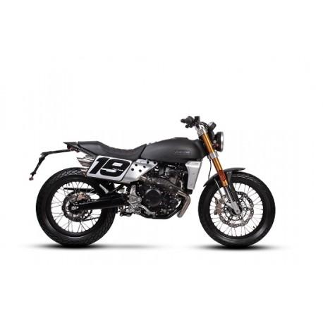 Fantic Caballero 500 Flat Track nera opaca moto 4T monocilindrico