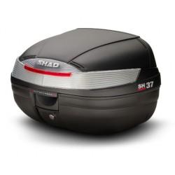 Shad bauletto SH37 nero moto e scooter litri 37 con piastra universale