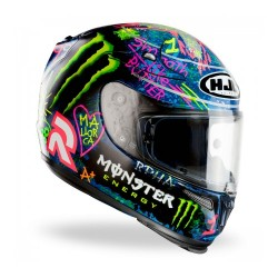 Hjc casco casque integrale Rpha-10 plus Lorenzo Graffiti