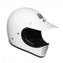 Agv casco X101 moto cross vintage anni 80 nero opaco