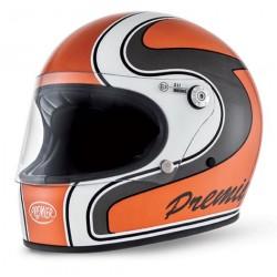 Casco casque integrale Premier Trophy orange