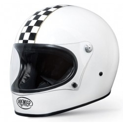 Casco casque integrale Premier Trophy CK white