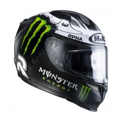 Hjc casco casque integrale Rpha-10 plus Lorenzo Ghost Fuera